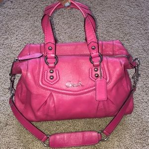 COACH Ashley convertible leather bag,STUNNING!!NEW